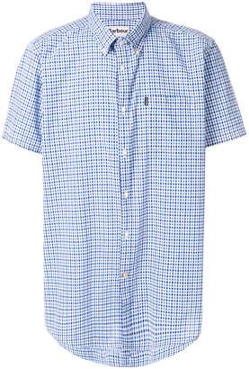 Barbour gingham check short sleeved shirt