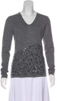 Saks Fifth Avenue Sequin Cashmere Sweater