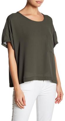 Lush Short Sleeve Boxy Tee $36 thestylecure.com