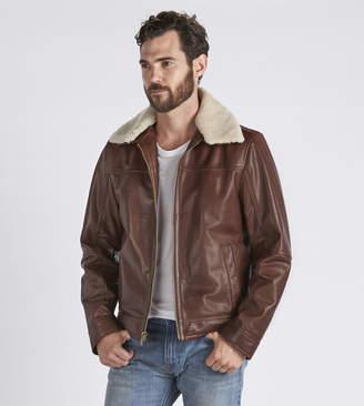 UGG Aviator Leather Jacket