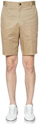 Thom Browne Light Cotton Twill Chino Shorts
