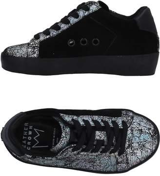 Leather Crown Low-tops & sneakers - Item 11314785GP