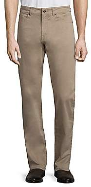 Peter Millar Men's Crown Sateen Stretch Five-Pocket Pants