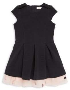 Catimini Little Girl's& Girl's Short Sleeve Tutu Dress