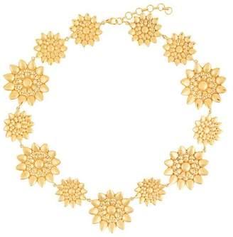 Ileana Makri Eye M By flower necklace