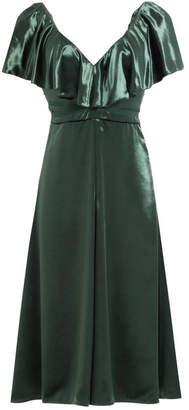 Valentino Velvet Dress with Silk