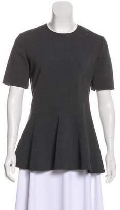 Stella McCartney Wool Short Sleeve Top