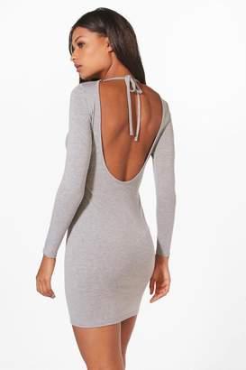 boohoo Alecta Scoop Back Bodycon Dress