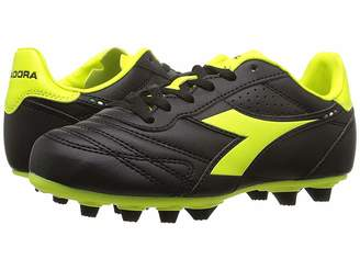 Diadora Brasil R MD PU JR Soccer (Little Kid/Big Kid)