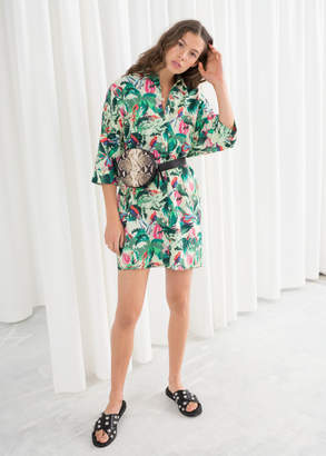 And other stories Cotton Shirt Dress