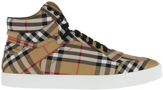 Burberry Reeth High Snearker Check Overall