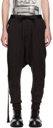 Unravel Brown Terry Brushed Dropped Lounge Pants