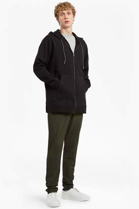 French Connection Ashcroft Longline Hooded Sweatshirt