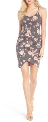 Women's Leith Floral Print Minidress $55 thestylecure.com