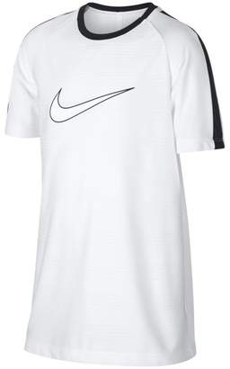 Nike Dri-FIT Academy Older Kids'(Boys') Short-Sleeve Football Top