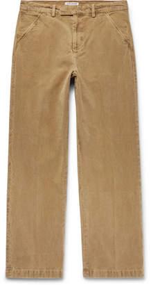 Our Legacy Cotton-Moleskin Trousers
