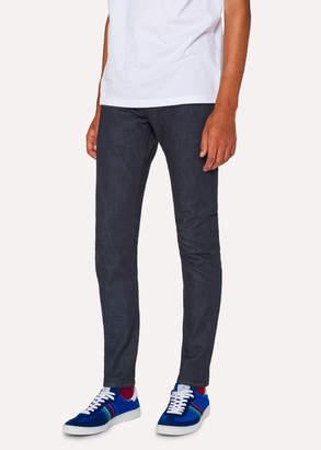 Paul Smith Men's Slim-Fit 11.8oz 'Super Soft Cross-Hatch' Indigo Jeans