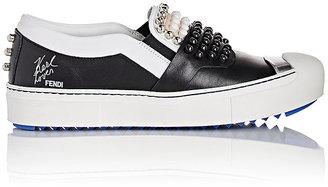 Fendi Women's Karlito Slip-On Sneakers $1,000 thestylecure.com