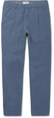 Folk Assembly Tapered Cotton Trousers