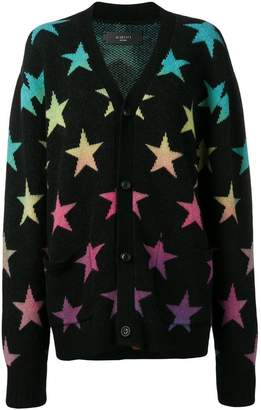 Amiri loose-fitting star cardigan