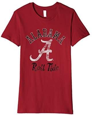 NCAA Alabama Crimson Tide Cute Women's T-Shirt AL1034