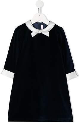 Il Gufo bow-tie detail midi dress