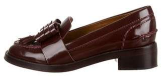 Tory Burch Patent Leather Bow-Accented Loafers