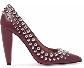 RED Valentino Studded Leather Pumps