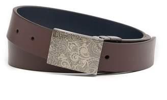 Robert Graham Holmes Reversible Leather Belt