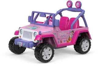 At Kohlu0027s · Fisher Price Power Wheels Disney Princess Jeep Wrangler Ride On  Vehicle By Power Wheels