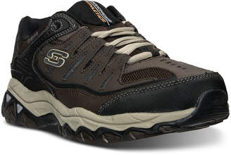 Skechers Men's After Burn - Memory Fit Wide Width Training Sneakers from Finish Line