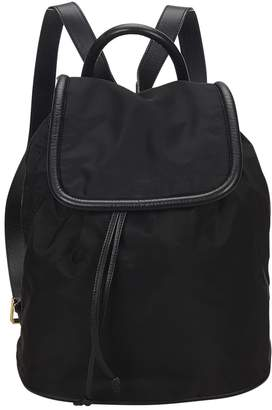 Celine Vintage Black Synthetic Backpacks