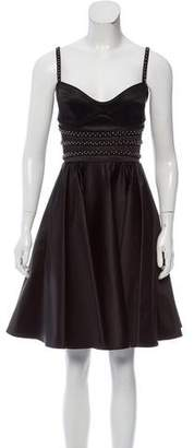 Zac Posen Embellished Sleeveless Dress