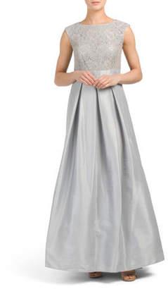 Sequin Top Long Gown