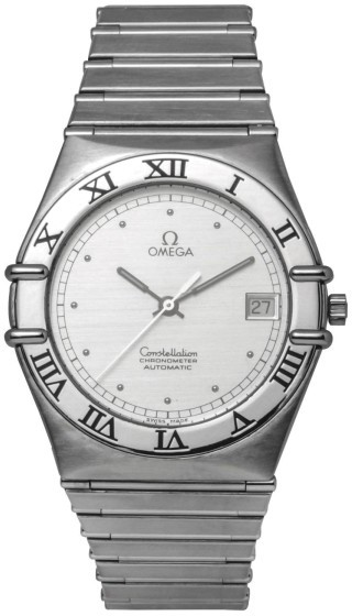 OmegaOmega Constellation 1212.10.00 Chronometer Stainless Steel Skeleton Back Automatic 34mm Mens Watch