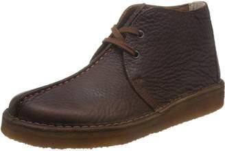 Clarks Mens Leather Desert Trek Boots-UK 8