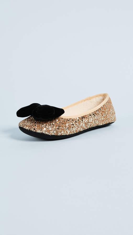 Kate Spade New York Sussex Glitter Ballet Flats