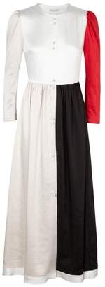 DAY Birger et Mikkelsen Rejina Pyo Quinn Colour-block Satin Midi Dress