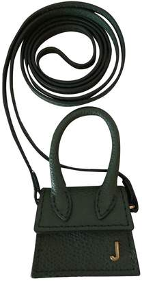 Jacquemus Le Petit Chiquito Khaki Leather Handbags