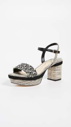 Isa Tapia Prado Platform Sandals