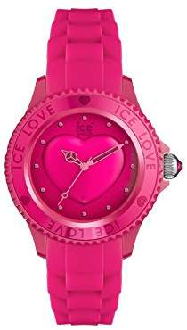 Ice Watch Ice-Watch - ICE love 2010 Pink - Women's wristwatch with silicon strap - 013726 (Small)