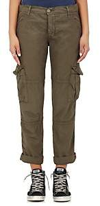 NSF Women's Basquiat Cotton Cargo Pants - Olive