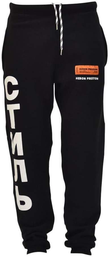 HERON PRESTON Ctnmb Jogging Pants