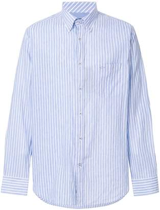 Paul & Shark striped long-sleeve shirt