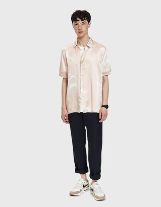 Bruta Printed Short Sleeve Shirt in Pink Print