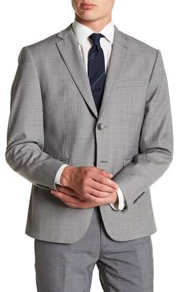 Original Penguin Notch Collar Front Button Blazer