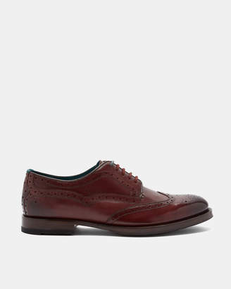 Ted Baker SENAPE Leather derby brogues