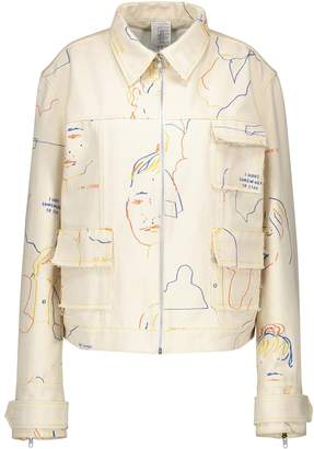 Bethany Williams Printed denim jacket