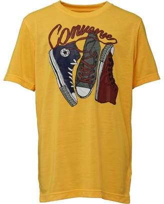 Converse Boys My Chucks T-Shirt Laser Orange