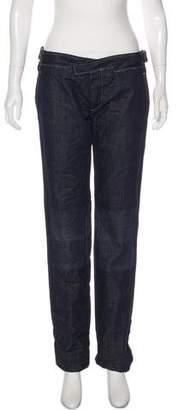 Bottega Veneta Mid-Rise Straight-Leg Jeans w/ Tags